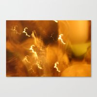 Canvas Print featuring 027 - Light by Tara Bateman