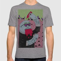 Blurp Mens Fitted Tee Athletic Grey SMALL