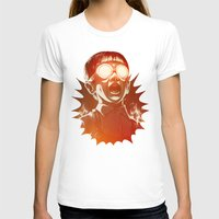 rock T-shirts featuring FIREEE! by Dr. Lukas Brezak