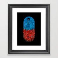 Capsule 41 Framed Art Print