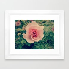 And the World Spins Madly On.. Framed Art Print