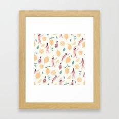 We love lemons Framed Art Print