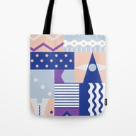 Tote Bag featuring Pause by .eg.
