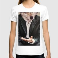 wolf T-shirts featuring the politician by karien deroo