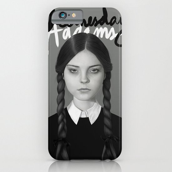 Wednesday Addams iPhone & iPod Case