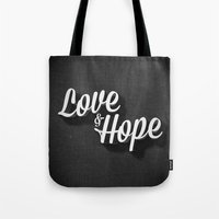 Love & Hope Tote Bag