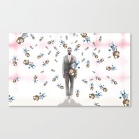 Graduation Insanity Canvas Print