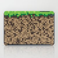 Minecraft Block iPad Case