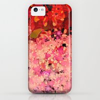 iPhone 5c Cases featuring Two Different Worlds -- Floral Pattern by Ramo