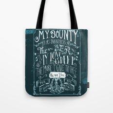Love Quote Tote Bag