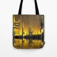 Futurescape Tote Bag