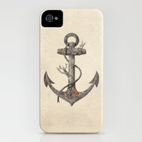 iPhone 4s & iPhone 4 Cases featuring Lost at Sea  by Terry Fan