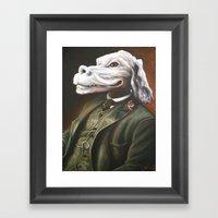 Luck Duke Framed Art Print