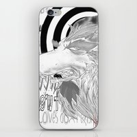 Werewolves don´t exist iPhone & iPod Skin