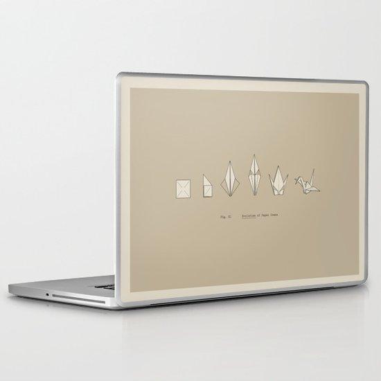 Evolution of Paper Crane Laptop & iPad Skin