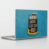 quotes Laptop & iPad Skins featuring Quotes by Ronan Lynam