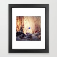 When Evening Comes Framed Art Print