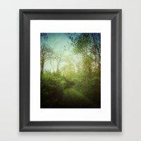 Follow Your Life Path Framed Art Print