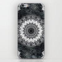 MONOCHROME BOHOCHIC MANDALA iPhone & iPod Skin