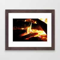 Why Should The Fire Die? Framed Art Print