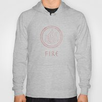 Avatar Last Airbender Elements - Fire Hoody