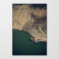 Colourful Boats Canvas Print