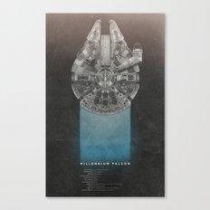 Millennium Falcon (Re-Re… Canvas Print