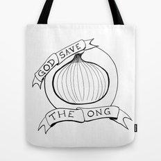 God Save The Ong Tote Bag