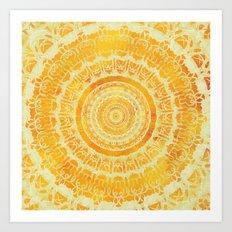 Sun Mandala 4 Art Print