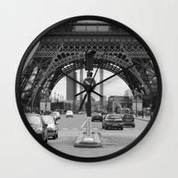 Paris transport Wall Clock