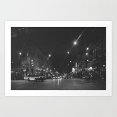 Wicker Park Art Print