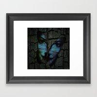 AM I A BUTTERFLY DREAMIN… Framed Art Print