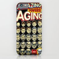 iPhone Cases featuring The Amazing Powers of Aging! by Joshua Kemble