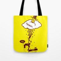 Thunderstruck Tote Bag