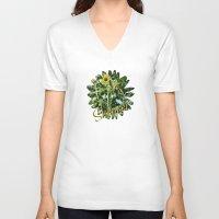 Wildflower  Unisex V-Neck