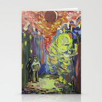 Loneliness Under The Str… Stationery Cards