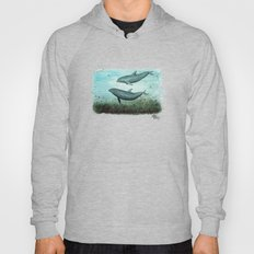 Two Inshore Dolphins ~ W… Hoody