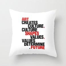 ART EFFECT Throw Pillow