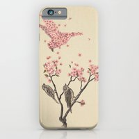 floral iPhone & iPod Cases featuring Blossom Bird  by Terry Fan