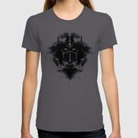 Optimust Womens Fitted Tee Asphalt SMALL