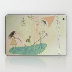 Jumping Rope in the Living Room Laptop & iPad Skin