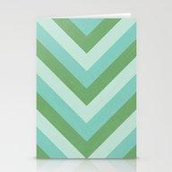 V Lines - River Stationery Cards