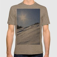 Tincan Mens Fitted Tee Tri-Coffee SMALL