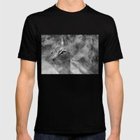 Broken Lynx Mens Fitted Tee Black SMALL