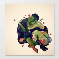 Mater T, Pater U Canvas Print