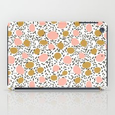 Pebbles cute pattern gender neutral dorm college abstract design minimal modern earth nature iPad Case