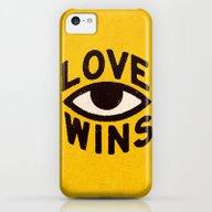Love Wins iPhone 5c Slim Case