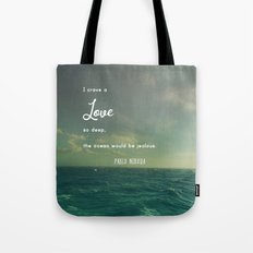 Deeper Than the Ocean Tote Bag