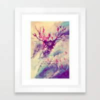 The Sky Is Beautiful Framed Art Print