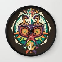 A Terrible Fate Wall Clock
